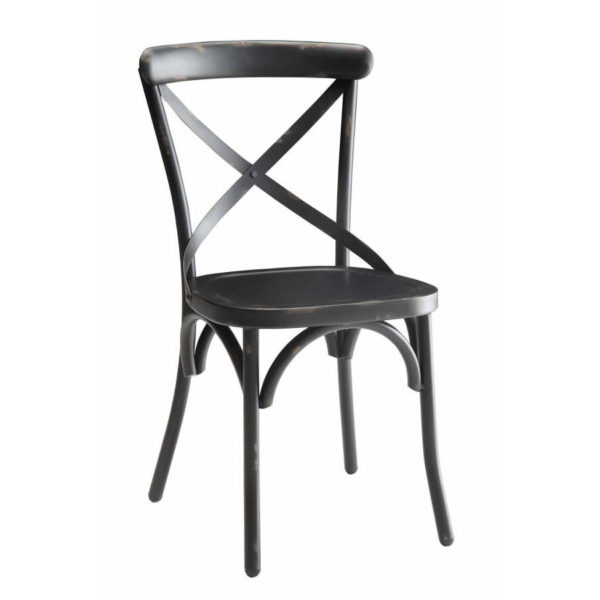Cross Black Chair