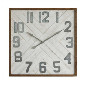 Wood _ Metal Clock