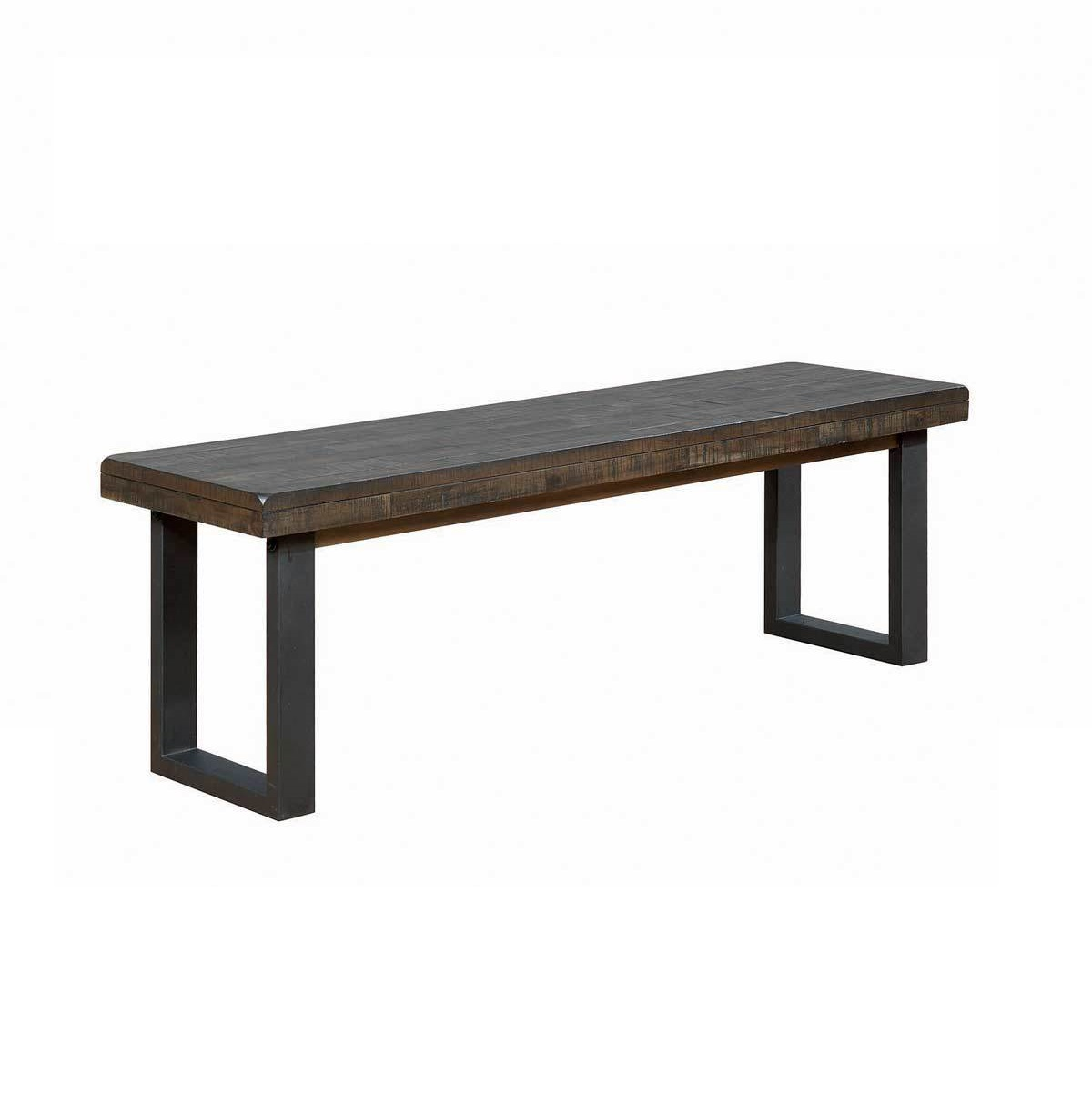 Charmant Modern Rustic Dining Bench