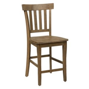 weathered pine bar stool